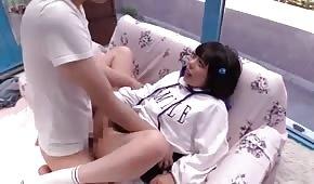 Porządny seks z orientalną uczennicą