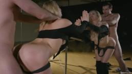 Seks z Mia Malkova przed lustrem