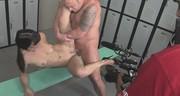 Zwariowany seksik ze zgrabną laseczką