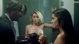 Ana de Armas i Lorenza Izzo w seks scenie