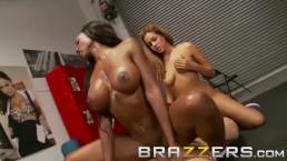 Seks z wysportowanymi gwiazdami porno