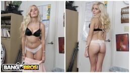 Seks z białowłosą i młodą kocicą