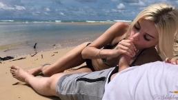 Fajny seks na plaży