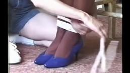 Ukryta kamerka i seks z kuszącą brunetką