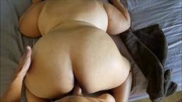 Seks na pieska z tłustą babeczką