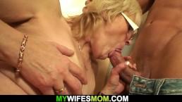 Porządny seks ze starą babcią