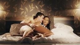 Delikatny seks z romantyczną niunią