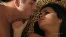 Romantyczny seks w długim porno