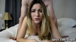 Seks z blond studentką na pieska