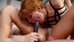 Analne zabawy ostrych lesbijek
