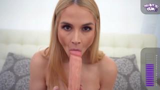 Krągła Sarah Vandella porządnie się masturbuje