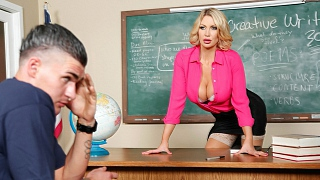 Brazzers – Leigh Darby, Clover Teaching Miss Darby a Hard Lesson