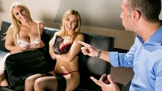 Brazzers – Julia Ann, Tanya Tate, Keiran Lee Double Your Pleasure